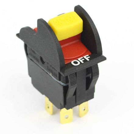 Superior Electric 18808 1-5/8 Inch x 3/4 Inch Toggle Switch with Lock