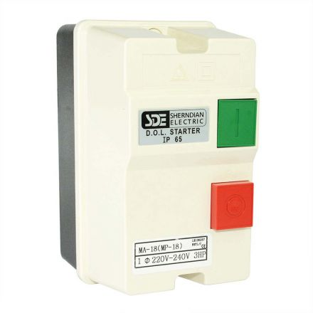 Superior Electric 18823 1-Phase, 50HZ @ 240V-60HZ @ 220V, 3-HP, 18-26-Amp Magnetic Switch - CSA Approved