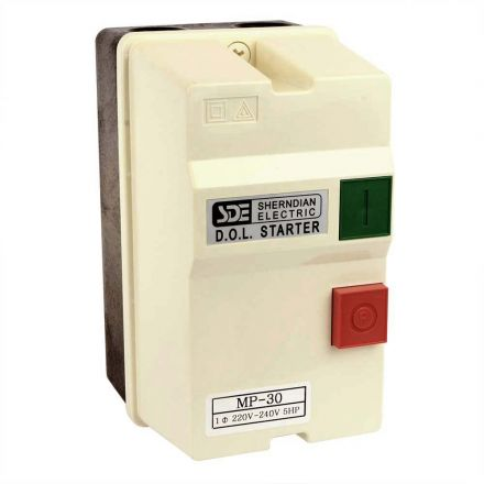 Superior Electric 18825 1 Phase, 50HZ @ 240V & 60HZ @ 220V, 5-HP, 22-34-Amp Magnetic Switch - UL Approved