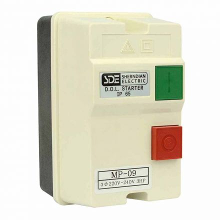 Superior Electric 18833 3 Phase, 50HZ @ 240V & 60HZ @ 220V, 3-HP, 8-12-Amp Magnetic Switch - UL Approved