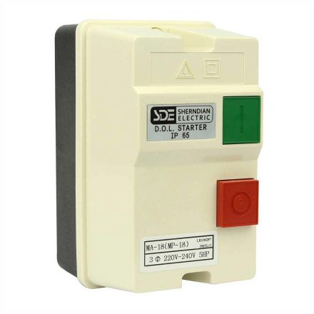 Superior Electric 18835 3 Phase, 50HZ @ 240V & 60HZ @ 220V, 5-HP,12-18-Amp Magnetic Switch