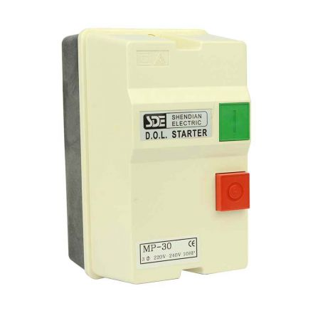 Superior Electric 18839 3 Phase, 50HZ @ 240V & 60HZ @ 220V, 10-HP, 22-34-Amp Magnetic Switch - UL Approved