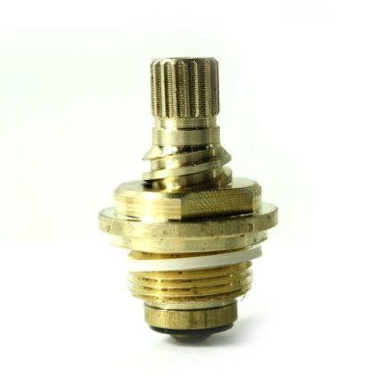 Superior Electric 4401742 Brass Streamway Stem Unit 20 TPI Gland 17pt - Hot - Fits Streamway 2596 Handle