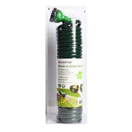 Superior Electric 8430451 25 Feet Coiled Hose & Nozzle Spray Gun