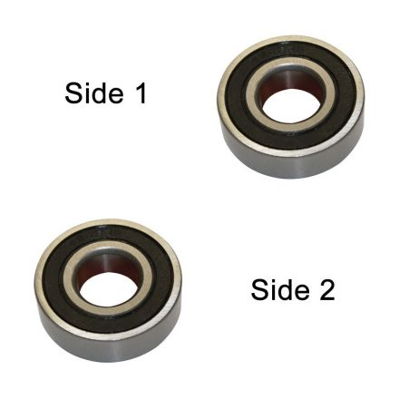 Superior Electric SE 6202-2RS-D Replacement Ball Bearing - 2 x Seal, ID 15 mm x OD 35 mmx W 11 mm  Hitachi 620-2VV, Dewalt 330003-75, Porter Cable 878064SV, Bosch 2610911986, Makita 211206-7 (2pcs/pk)