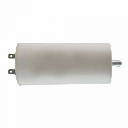 Superior Electric CMC7015 100 MFD +/-5% 50Hz/60Hz AC 300V Cylinder Motor Running Capacitor with 8mm Mounting Thread (CBB60)