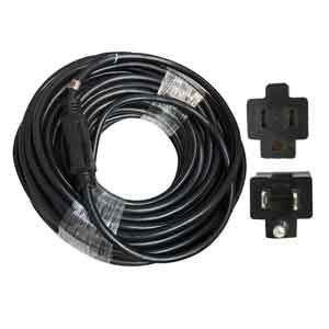 Superior Electric EC123-100E 100 Feet 12 AWG 3-Wire 125 Volt SJTW Indoor / Outdoor Extension Cord