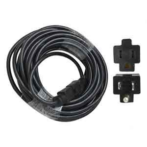 Superior Electric EC123-50E 50 Feet 12 AWG 3-Wire 125 Volt SJTW Indoor / Outdoor Extension Cord