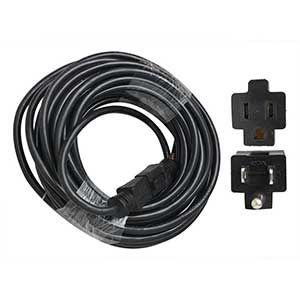 Superior Electric EC143-50E 50 Feet 14 AWG 3-Wire 125 Volt SJTW Indoor / Outdoor Extension Cord