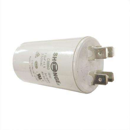 Superior Electric CMC7001 10MFD +/-5% 50Hz/60Hz AC 250V Cylinder Motor Running Capacitor (CBB60)