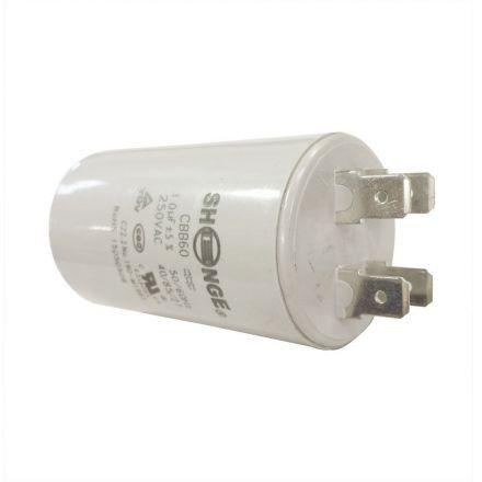 Superior Electric CMC7002 10MFD +/-5% 50Hz/60Hz AC 450V Cylinder Motor Running Capacitor (CBB60)
