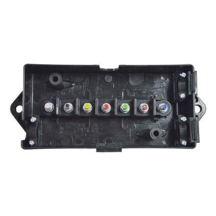 Superior Electric RVA1567 7-Way Heavy-Duty Trailer RV Truck Electrical Wire Connector Junction Box