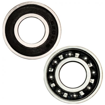 Superior Electric SE 6203-RS-D Replacement Ball Bearing - ID 17 mm x OD 40 mm x W 12 mm Replaces Makita  211256-2, Bosch 2610024748, Delta 1086894S (2pcs/pk)