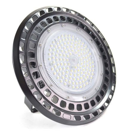 Superior Electric SE-LED100WBL 100W Bay light with Mount Bracket IP65, 120 Degree Beam Angle - Industrial Grade Warehouse / Factory Shed Roof Lamp