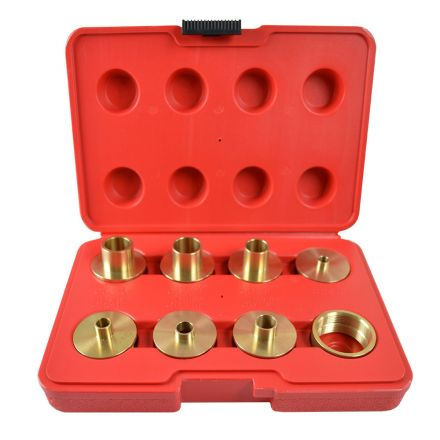 Superior Electric SE3008 Brass Router Template Guide 9pc Kit