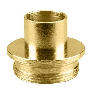 Superior Electric 19660 Brass Router Template Guide I.D. 21/32 Inch O.D. 3/4 Inch Replaces Porter Cable 42024
