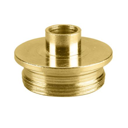 Superior Electric 19662 Brass Router Template Guide I.D. 13/32 Inch O.D. 1/2 Inch Replaces Porter Cable 42033