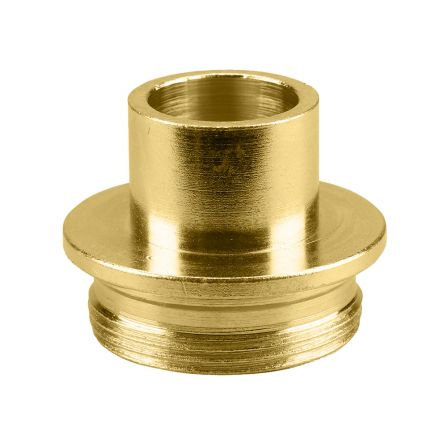 Superior Electric 19664 Brass Router Template Guide I.D. 5/8 Inch O.D. 51/64 Inch Replaces Porter Cable 42042