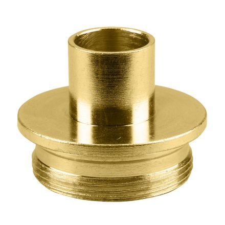 Superior Electric 19665 Brass Router Template Guide I.D. 17/32 Inch O.D. 5/8 Inch Replaces Porter Cable 42045