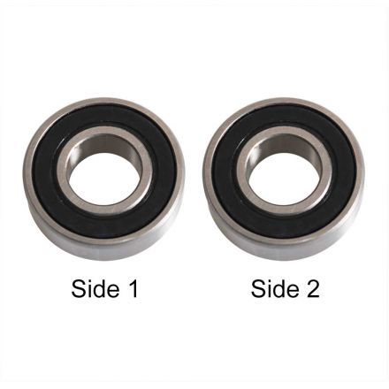 Superior Electric SE 6201-13RS-D Replacement Ball Bearing - ID 13 mm x OD 32 mm x W 10 mm Porter Cable Router Bearing 802311 (2pcs/pk)