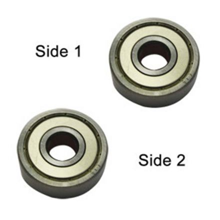 Superior Electric SE 6000ZZ-D Replacement Ball Bearing - 2 x Shield, ID 10 mm x OD 26 mmx W 8 mm Porter Cable 893212, Makita 211062-5, Metabo 143112150, Dewalt 5140086-56, Milwaukee 02-04-1020 (2pcs/pk)