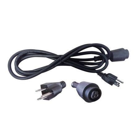 Superior Electric EC183M 8 Feet 18 AWG SJO 3 Wire 125 Volt NEMA 5-15P Power Tool Quick-Lock Cord Replaces Milwaukee Part # 48-76-4008, 48-76-3008
