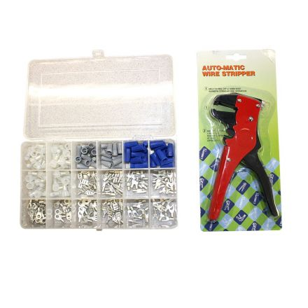 Superior Electric EKIT1 Electrical Connectors/Terminals Repair Kit w/plastic case + Crimper