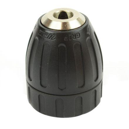 Superior Electric J1510T 3/8 Inch Keyless Drill Chuck 3/8 Inch x 24 UNF Mount