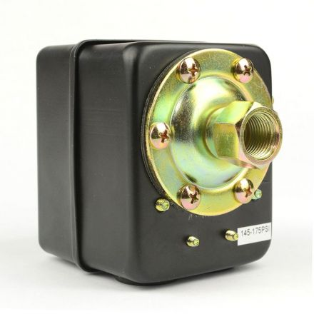 Superior Electric LF17-1H Pressure Switch - 3/8 FPT Single Port - Internal Adjustable Switch - 175 PSI