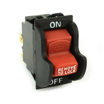 Superior Electric SW7A Aftermarket On-Off Toggle Switch for Delta 489105-00 & Ridgid / Ryobi 46023