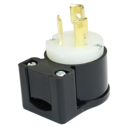 Superior Electric YGA019AT 15A 125V NEMA L5-15P Twist Lock Electrical Plug