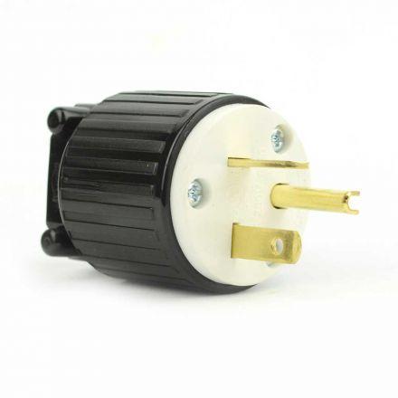 Superior Electric YGA022 Straight Electrical Plug 3 Wire, 20 Amps, 250V, NEMA 6-20P