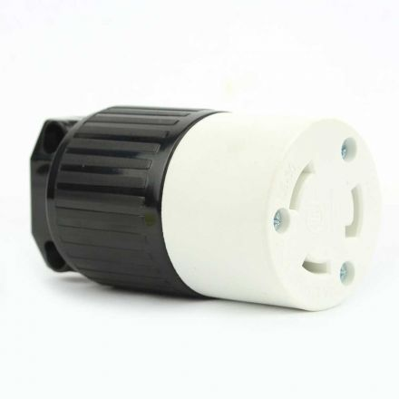 Superior Electric YGA024F Twist Lock Electrical Receptacle 3 Wire, 30 Amps, 125V, NEMA L5-30R