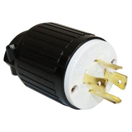 Superior Electric YGA028 Twist Lock Electrical Plug 20A 125/250V NEMA L14-20P