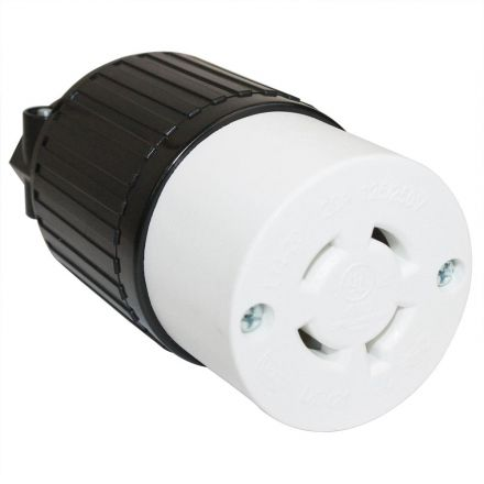Superior Electric YGA028F Twist Lock Electrical Receptacle 20A 125/250V NEMA L14-20R