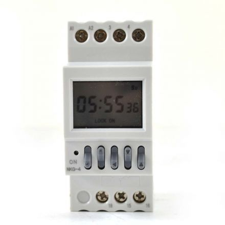 Superior Electric SW40T Programmable Digital Timer Switch 110V AC 16A Automatic Factory School Bell Control Instrument – 40 Groups