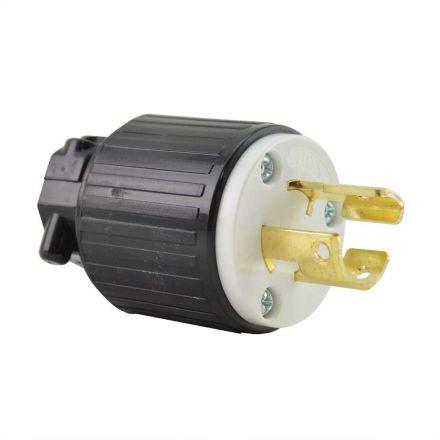 Superior Electric YGA026 Twist Lock Electrical Plug - 3 Prong 15A 125V, NEMA L5-15P