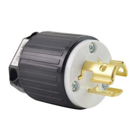Superior Electric YGA027 Twist Lock Electrical Plug, 3P 15A 250V - NEMA L6-15P