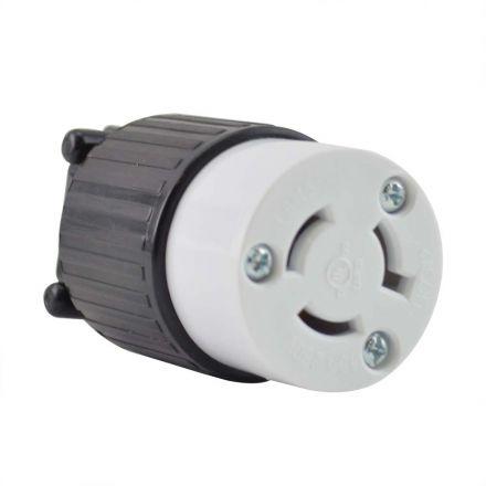 Superior Electric YGA027F Twist Lock Electrical Receptacle 3P 15A 250V - NEMA L6-15C