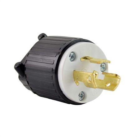 Superior Electric YGA031 Twist Lock Electrical Plug, 3P 15A 277V - NEMA L7-15P
