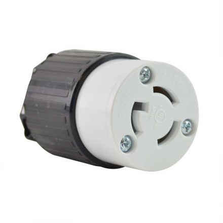 Superior Electric YGA031F Twist Lock Electrical Receptacle 3P 15A 277V - NEMA L7-15C