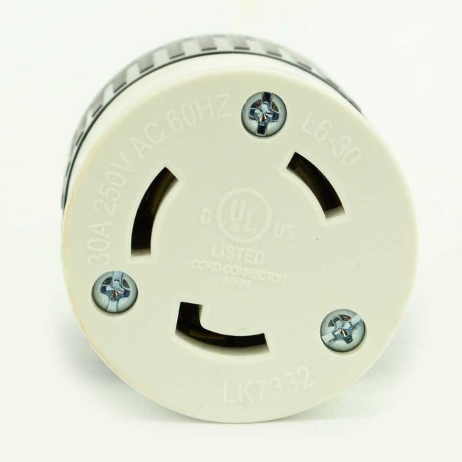 Twist Lock Electrical Receptacle 3 Wire 30 Amps 250v Manual Guide